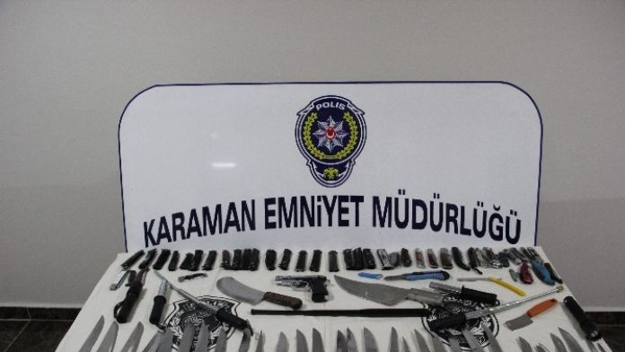 Karaman'da 541 Kişiye 92 Bin Lira Para Cezası