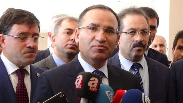Adalet Bakanı o habere sert tepki gösterdi