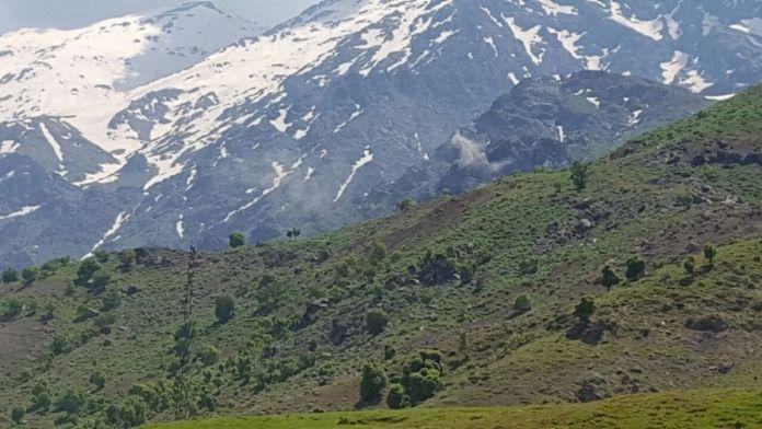 PKK hedefleri ateş altında