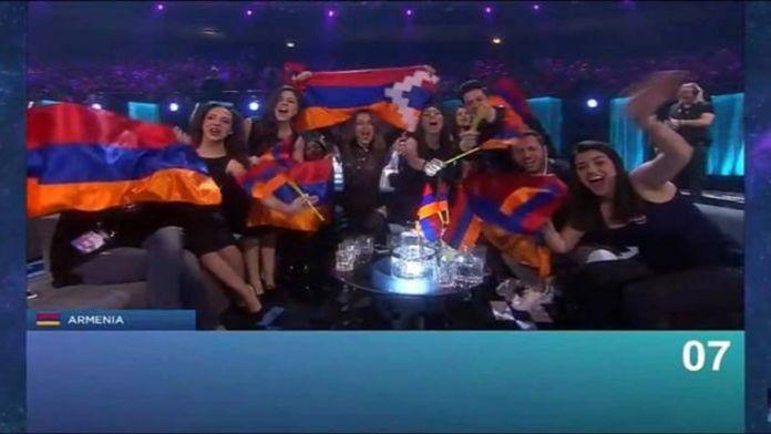 Ermenistan'a 'Eurovision' tepkisi