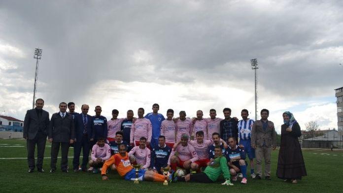Erzurum'da Engelli Futbol Müsabakası