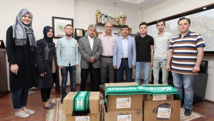 AK Partili Gençlerden Kardeş Okula Yardım