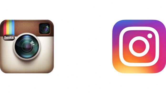 Instagram logo değiştirdi