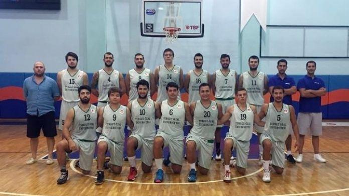 Turgut Özal Basketbol Takımı 2. Lig'in Kapısını Araladı