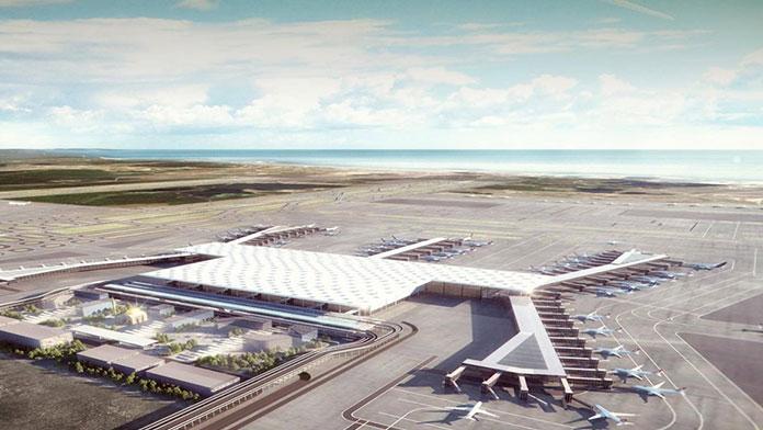 'Yeni havalimanının yüzde 25'ini tamamladık'