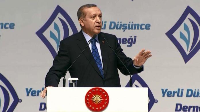 Erdoğan: Kızılay'dan başkasına kan vermeyiz