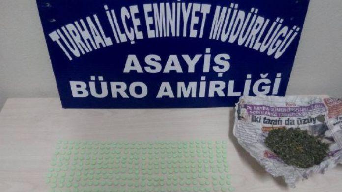 Turhal'da uyuşturucu operasyonu: 4 tutuklama