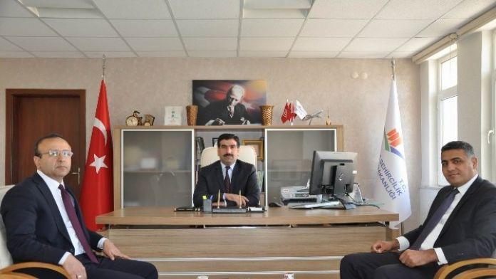 Çedaş Genel Müdürü Akboğa, Çevre Ve Şehircilik İl Müdürü Yakut'u Ziyaret Etti
