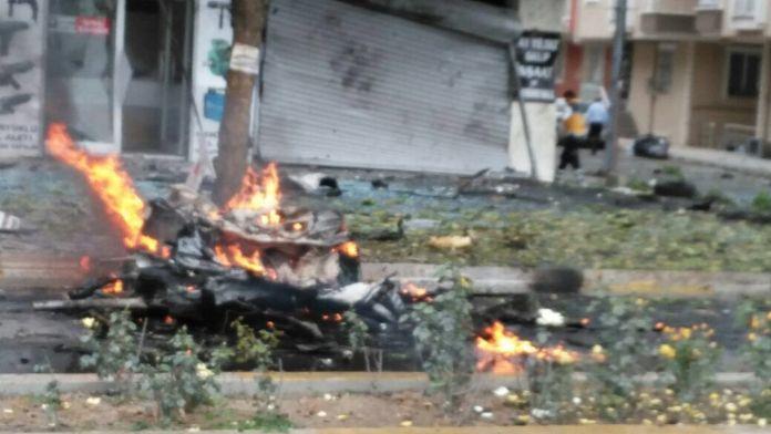 Sancaktepe'deki patlamada 4 kişi yaralandı