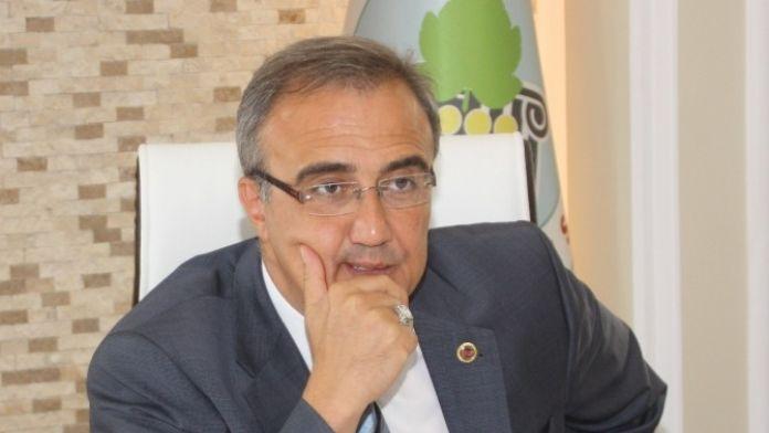 Başkan Karaçoban Soma Maden Şehitlerini Andı