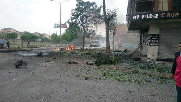 (Ek Fotoğraf) Sancaktepe'deki patlama sonrası...