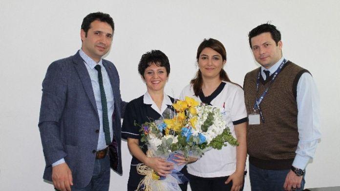 Özel Adatıp Hastanesı 'Hemşıreler Günü'nü Kutladı