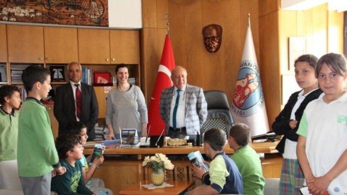 Minik Öğrencilerden Avanos Belediyesine Ziyaret