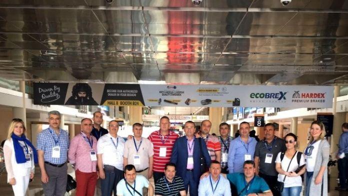 GTO Üyesi Otomotivciler Dubai'de İncelemelerde Bulundu