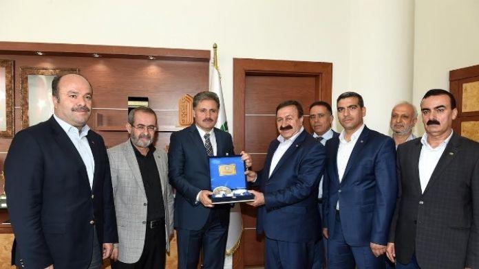 Bem-bir-sen Genel Başkan Yardımcısı Sevinç, Başkan Çakır'ı Ziyaret Etti
