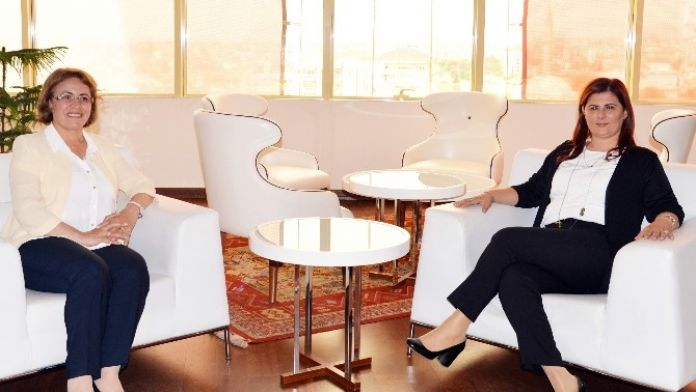 CHP Kadın Kolları Genel Başkanı Köse'den Başkan Çerçioğlu'na Ziyaret