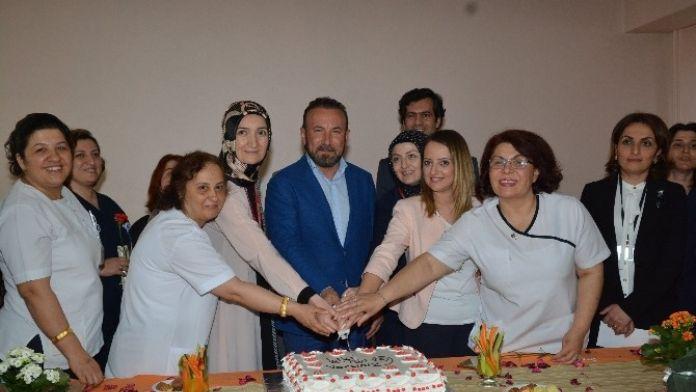 Başkan Doğan'dan Hemşirelere Ziyaret