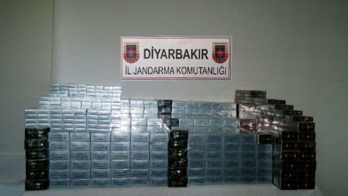 Diyarbakır'da 13 Bin 10 Paket Kaçak Sigara Ele Geçirildi