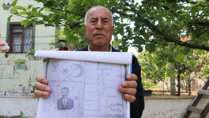 86 yaşındaki 'Ali dede' askere çağrıldı