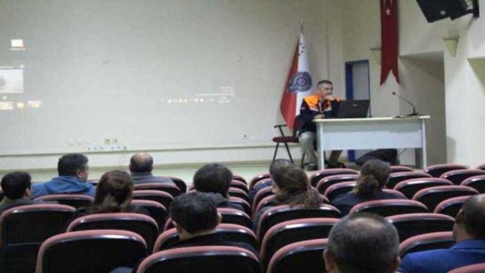 Bartın AFAD'tan Kurtarma Servisi Personeline Eğitim
