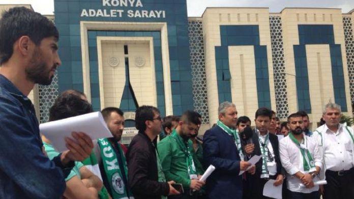 Konyasporlu taraftardan, federasyon temsilcisi hakkında savcılığa suç duyurusu