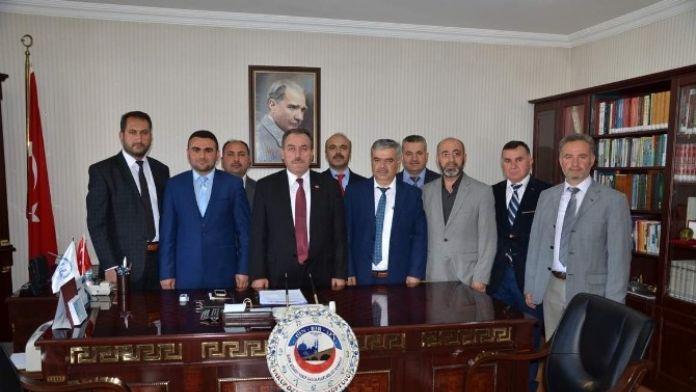Din-bir-sen'den Müftü Öztürk'e Ziyaret