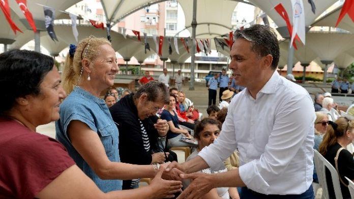 Başkan Uysal, Varlık Mahallesi'ni Ziyaret Etti