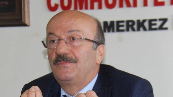 CHP İstanbul Milletvekili Mehmet Bekaroğlu: