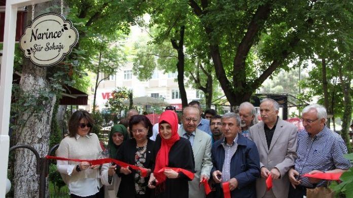 Kahramanmaraş'ta Şiir Sokağı Açıldı