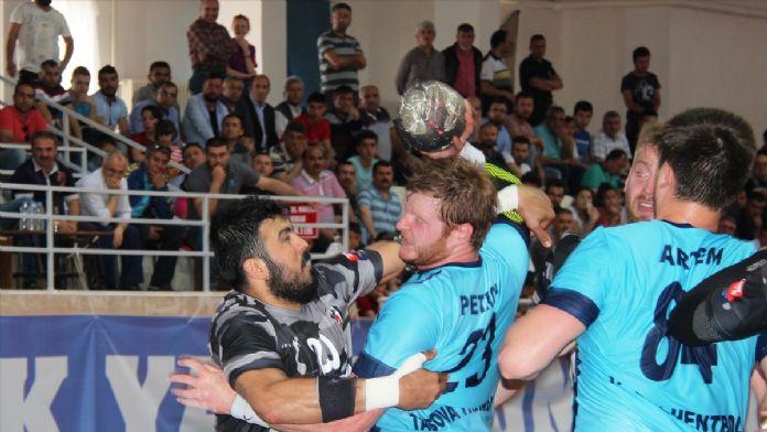 Hentbol: Erkekler Süper Lig play-off 14 Mayıs 2016 Cumartesi