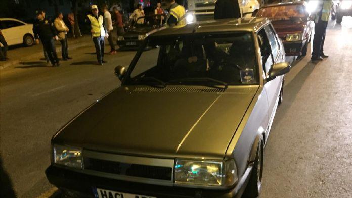 TEDES'ten kaçan sürücüler polise yakalandı