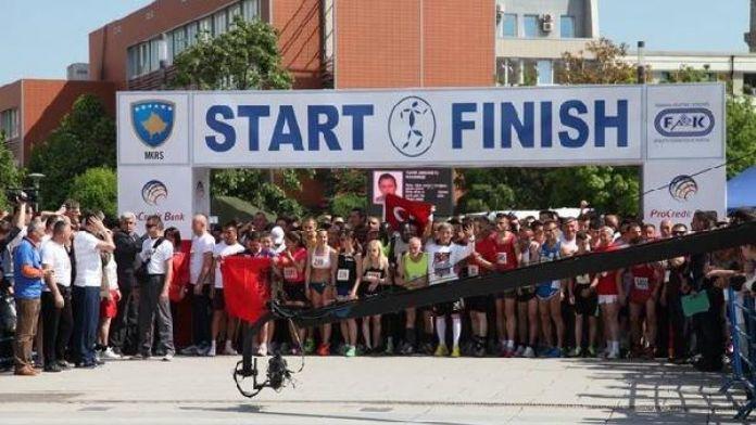 Kosova'da Uluslararası Barış ve Hoşgörü Yarı Maratonu düzenlendi