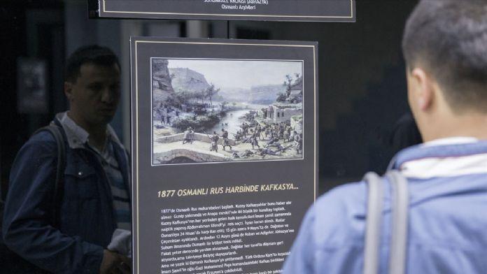 Ankara'da, 'Büyük Kafkas Sürgünü' sergisi açıldı