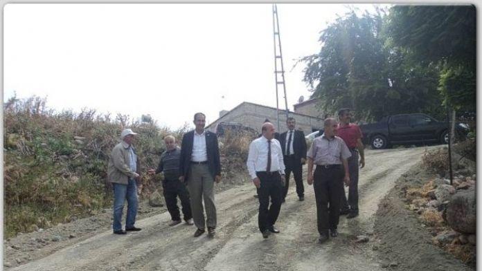 Köylerde Altyapı Yenileniyor