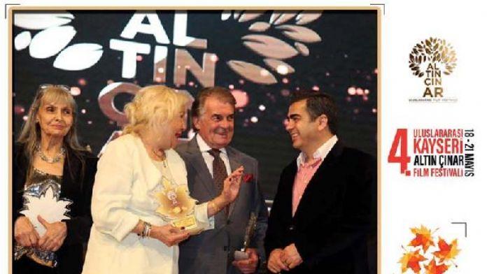 4'üncü Uluslararası Kayseri Altın Çınar Film Festivali başlıyor