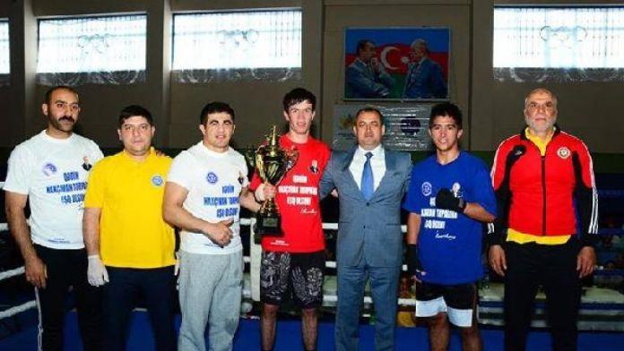 Haydar Aliyev'in adına Nahcıvanda Kick Boks Turnuvası düzenlendi