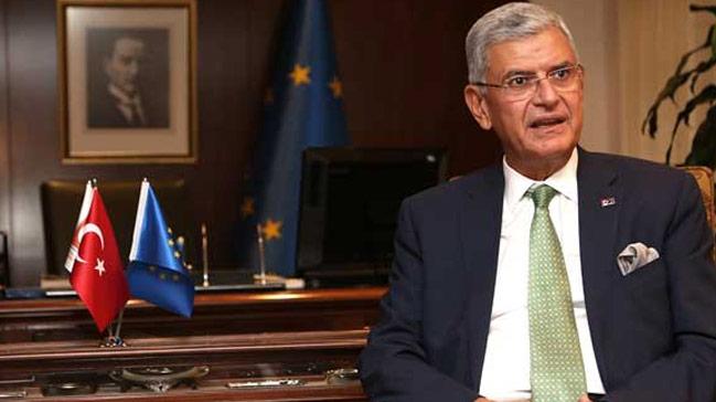 AB Bakanı Bozkır'ın Sürpriz Konuğu