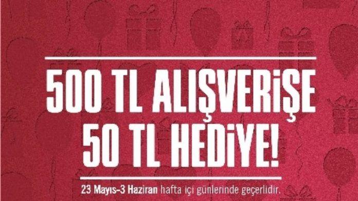 Forum Erzurum'dan Harcadıkça Kazandıran Kampanya!