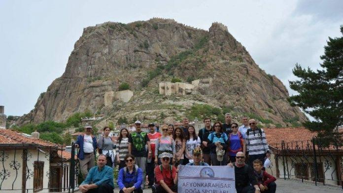 Afdos Üyeleri Tarihi Mekanları Gezdi