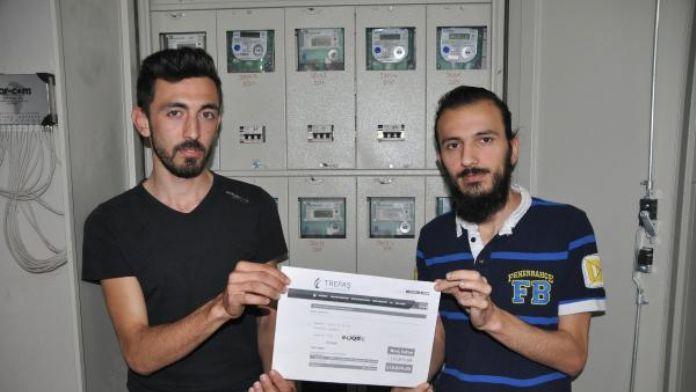 Öğrenci Evine 120 bin liralık elektrik faturası 16 Mayıs 2016 Pazartesi