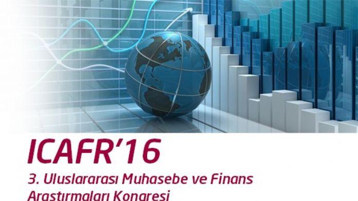 3. Uluslararası Muhasebe Ve Finans Araştırmaları Kongresi Sona Erdi
