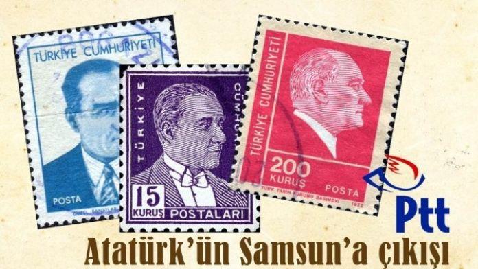 Atatürk'ün Samsun'a Çıkışı Pul Sergisi Yeşilyurt AVM'de