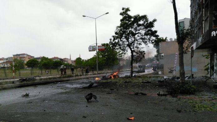 Sancaktepe'deki bombalı saldırıya 3 tutuklama 16 Mayıs 2016 Pazartesi
