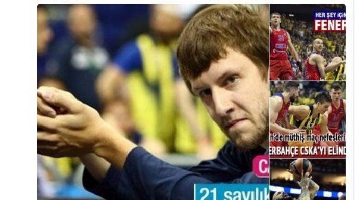 Şamil Tayyar'ın Cska Moskova Tweeti Rus Basınında