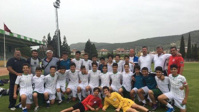 DSİ U14 Futbol Takımı Muğla'da Grup Lideri Oldu