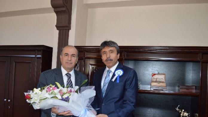 SGK İl Müdürü Bilal Doğan, Vali Yardımcısı Mehmet Emin Avcı'yı Ziyaret Etti
