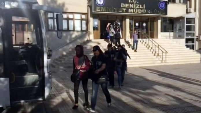 Denizli'de Fuhuş Operasyonu: 10 tutuklanma