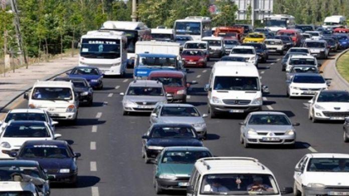 Aydın'da Toplam Araç Sayısı 393 Bin 129 Oldu