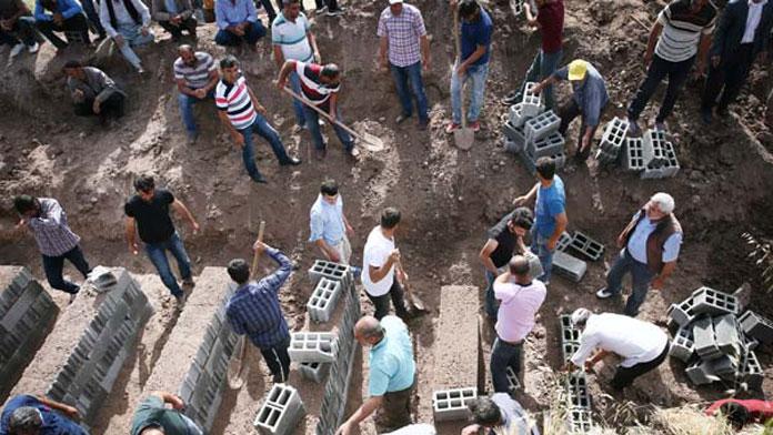 Diyarbakır'da acı konvoy!