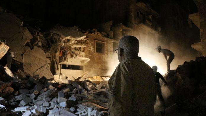 'Tedmur'da konser veren Rusya, Halep'te tarihi mekanları yok ediyor